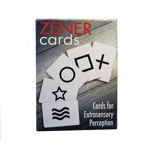 Zener Cards for ESP Hard Box Set